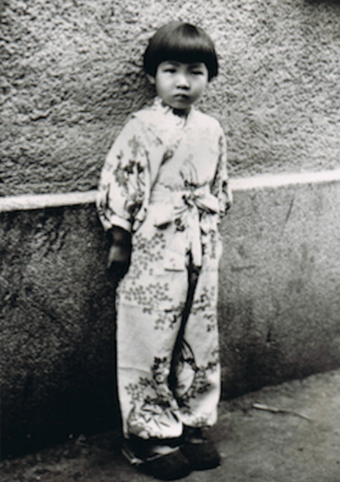 Homare Endo at age five in her hometown of Changchun. (Homare Endo)