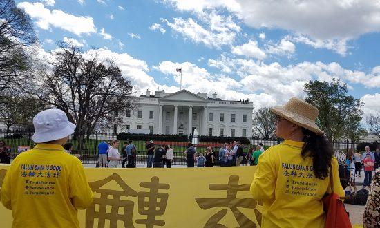 Falun Gong Rally for Freedom in Washington DC