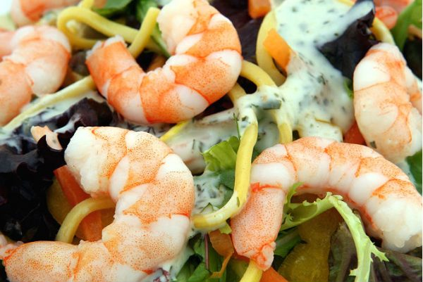 Heart disease Reduction food :Shrimp
