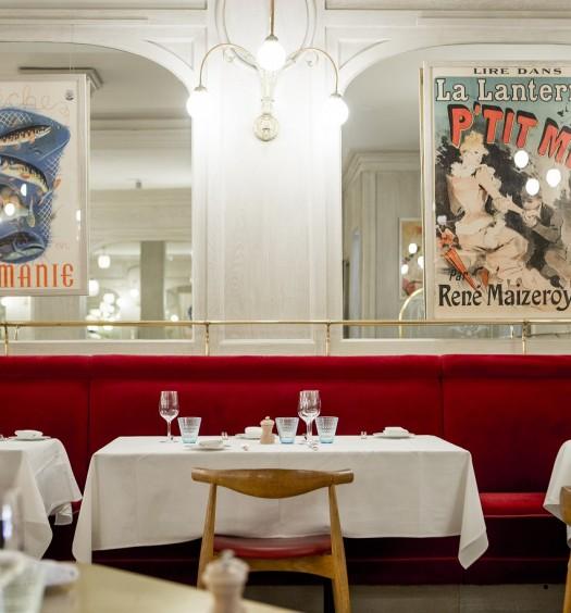 The dining room at Benoit. (Pierre Monetta)
