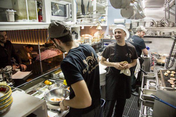 Guardione in the kitchen. (Samira Bouaou/Epoch Times)
