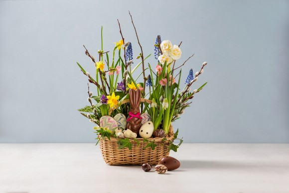 LA Burdick's Classic Easter Basket. (Tom Moore)
