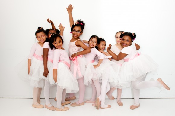 Young dancers in the Groove With Me program. (Ron Holtz)