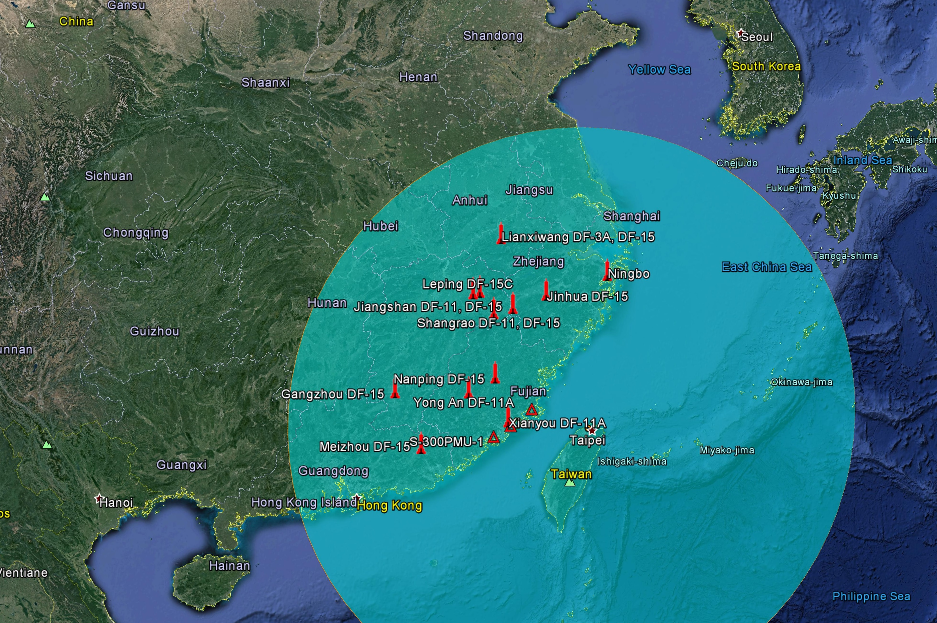 Taiwan's capability to strike back at China using its cruise missiles is a crucial part of Taiwan's deterrence against aggression, said experts. The reported range of Taiwan's cruise missiles is far enough to attack many sites where China has deployed ballistic missiles that target against Taiwan.