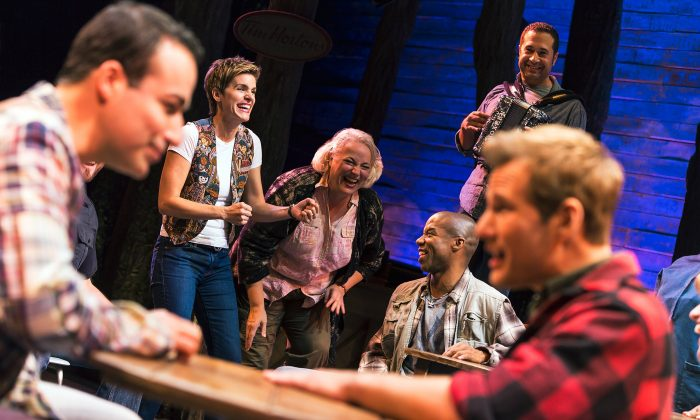 """Cast from """"Come From Away."""" (Matthew Murphy)"""