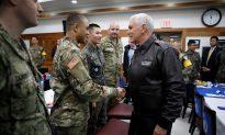 Pence Warns North Korea of US Resolve Shown in Syria, Afghan Strikes