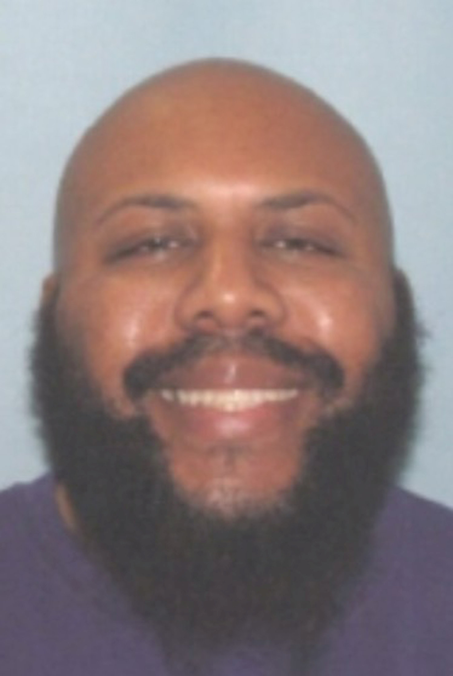 Steve Stephens is seen in an undated handout photo released on April 16, 2017.  (Cleveland Police/Handout via REUTERS)