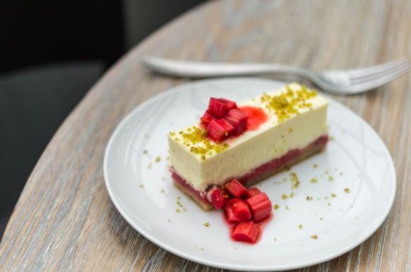 Sheep's Milk Ricotta Cheesecake. (Daniel Krieger)