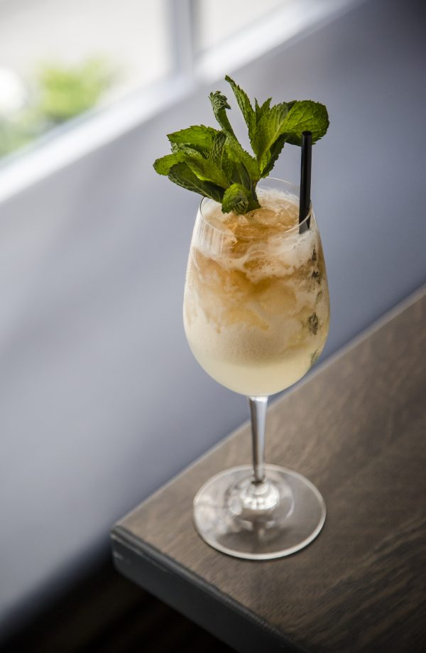 The Mad Girl's Love Song cocktail. (Samira Bouaou/The Epoch Times)