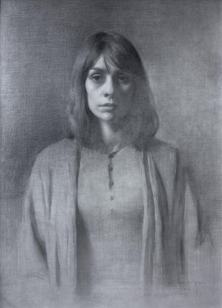 Self-portrait by Amaya Gurpide. (Courtesy of Colleen Barry)