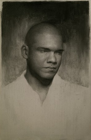 Self-portrait by Irvin Rodriguez. (Courtesy of Colleen Barry)