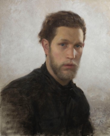Self-portrait by Joshua LaRock. (Courtesy of Colleen Barry)