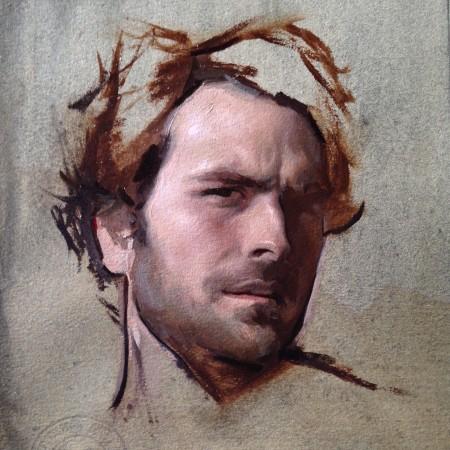 Self-portrait by Jordan Sokol. (Courtesy of Colleen Barry)