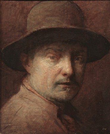 Self-portrait by Charles Weed. (Courtesy of Colleen Barry)