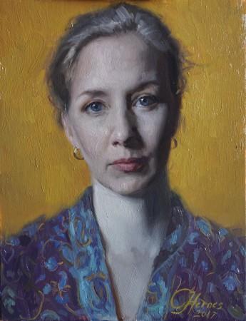 Self-portrait by Cornelia Hernes. (Cornelia Hernes)