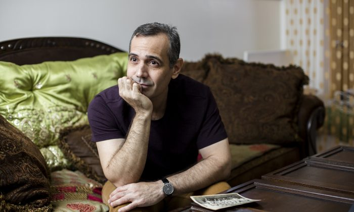 Jesus de Leon at his home in Brooklyn, N.Y., on March 16, 2017. De Leon defected from Cuba in 2004 while he was on a work trip to Brazil. (Samira Bouaou/The Epoch Times)