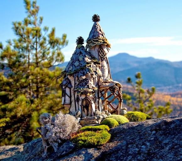 Adirondack  Faerie Lodge (Courtesy of Sally J. Smith)