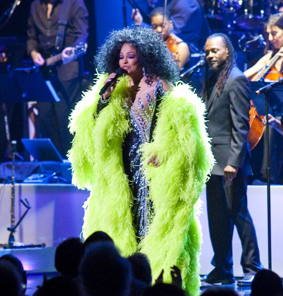 Diana Ross performing at  Radio City Music Hall  May 19, 2010 in New York City ( Rick Gilbert/Skyhook Entertainment)