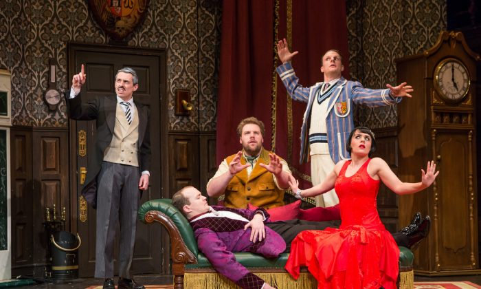 """The cast of """"The Play The Goes Wrong."""" (Jeremy Daniel)"""