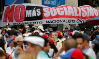 Hundreds of Thousands Protest Venezuela's Socialist Regime on May Day