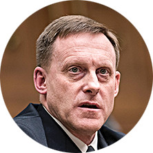 National Security Agency Director Michael Rogers on May 23. Rogers has served as NSA director since April 2014. Under his watch, spying on Americans and the unmasking of their identities increased dramatically, most notably in the 2016 election year.(Drew Angerer/Getty Images)