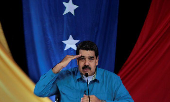 "Venezuela's President Nicolas Maduro during his weekly broadcast ""Los Domingos con Maduro"" (The Sundays with Maduro) in Caracas, Venezuela.(Miraflores Palace/via Reuters)"