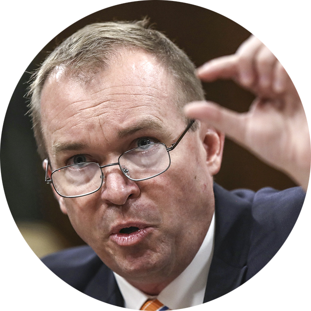 Office of Management and Budget Director Mick Mulvaney on May 25.