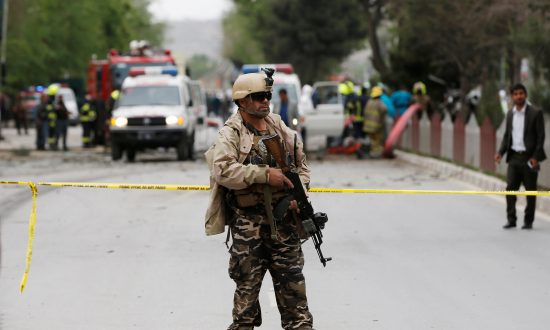 Suicide Car Bomber Hits Afghan Capital, at Least Four Wounded