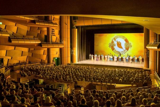 Ikeda Theater in Mesa, Ariz., March 22, 2017. (Debora Cheng/Epoch Times)