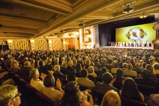 The historic Granada Theatre in Santa Barbara, Calif., March 25, 2017. (Debora Cheng/Epoch Times)
