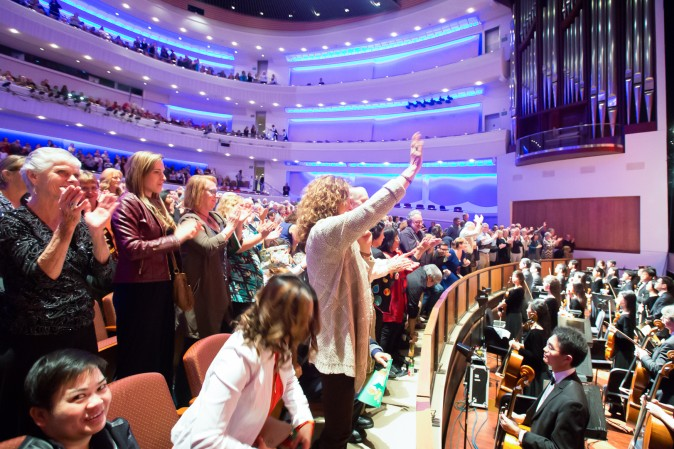 Performing Arts Center San Luis Obispo, April 11, 2017. (Debora Cheng/Epoch Times)