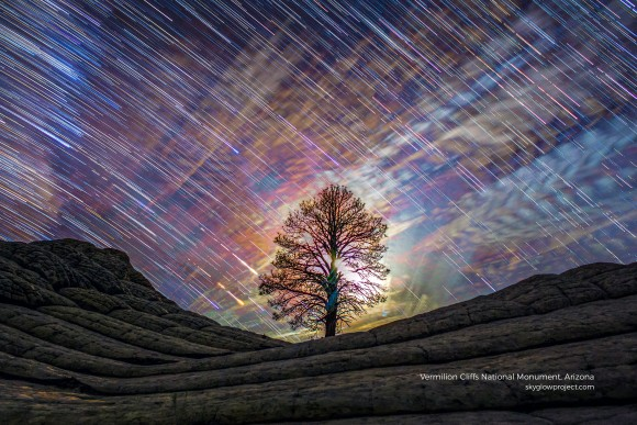 Vermilion Cliffs National Monument in Arizona. (Courtesy of Gavin Heffernan and Harun Mehmedinović)