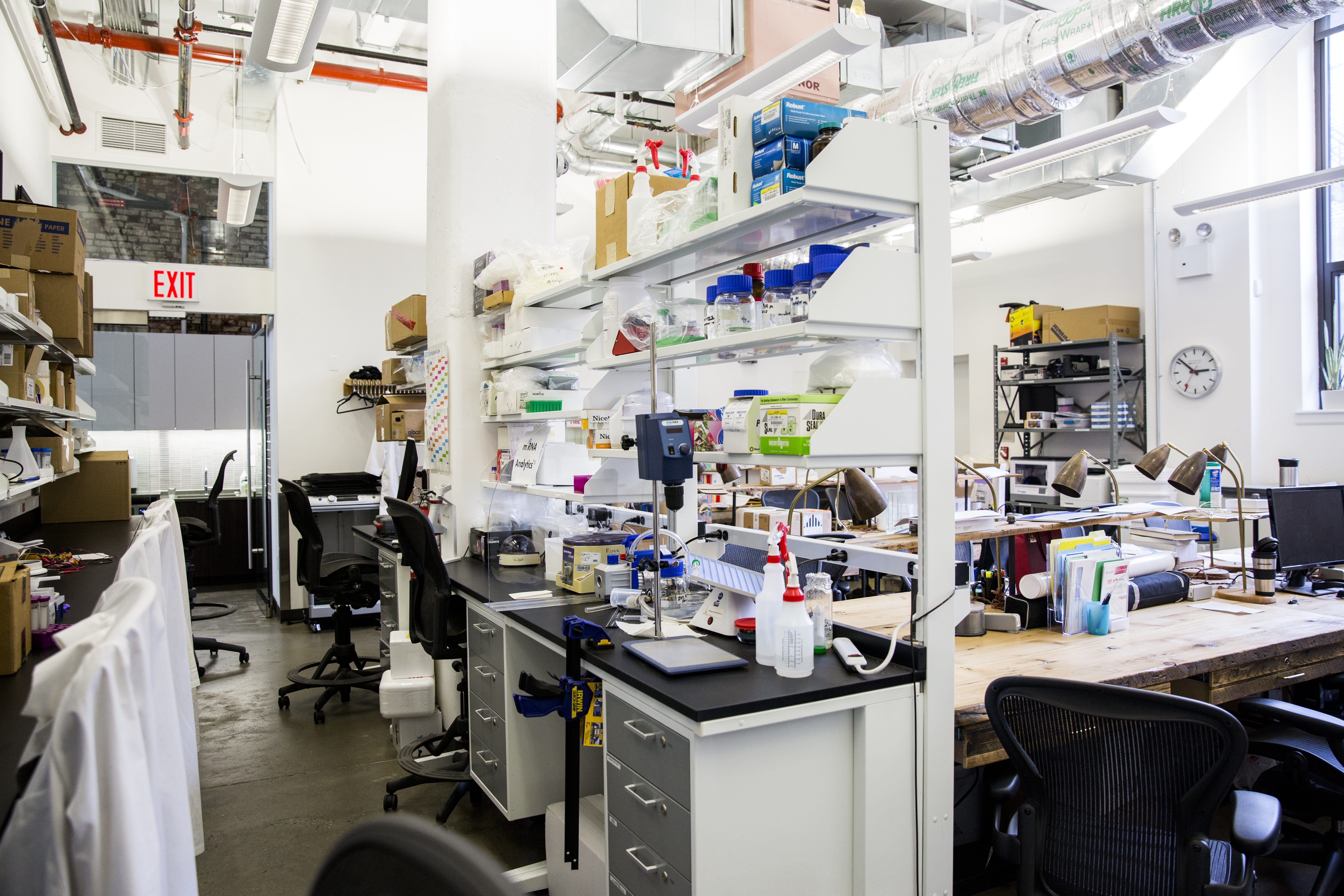 Harlem Biospace, a business incubator that supports entrepreneurs in biotechnology and life sciences in New York on April 27, 2017. (Samira Bouaou/The Epoch Times)