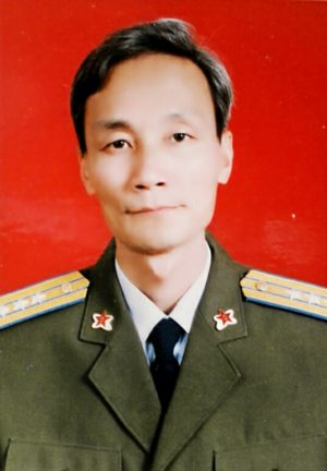 Zhu Liming, a former colonel in the People's Liberation Army's Air Force Command College who became a volunteer Falun Gong coordinator in Beijing. (Courtesy of Zhu Liming)