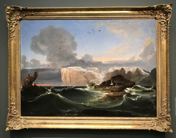 """The North Cape,"" 1845, by Peder Balke. Oil on canvas, The Savings Bank Foundation DNB, Norway. (Milene Fernandez/The Epoch Times)"