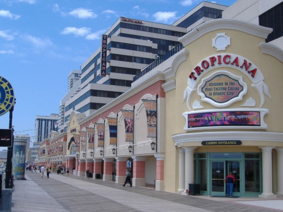 The Tropicana Casino & Resort, one of the many casinos in Atlantic City.  (DrVenkman/English Wikipedia)