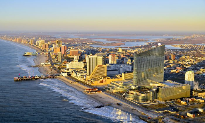 Aerial view of Atlantic City. (Bob Krist)