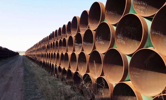 Keystone pipeline chinese steel