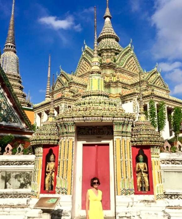 Sibylle Eschapasse in Bangkok, Thailand. (Sibylle Eschapasse)