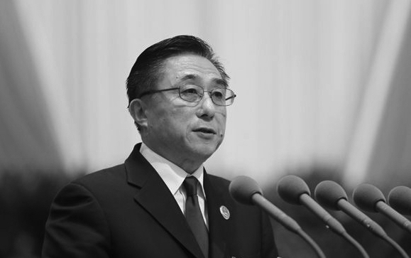Chen Xu, the former  Prosecutor General of the Shanghai People's Procuratorate. (eastday.com)