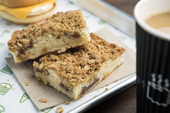 Coffee cake by Daily Provisions. (Evan Sung)