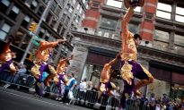 10,000 Gather for massive dance parade down NYC's busiest street