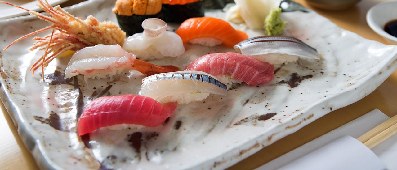Sushi and Shochu Make a Perfect Pairing at Shimizu