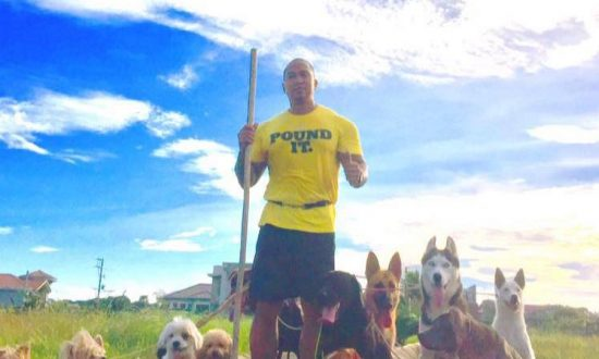 The Ultimate Dog Walker and His Hidden Suffering