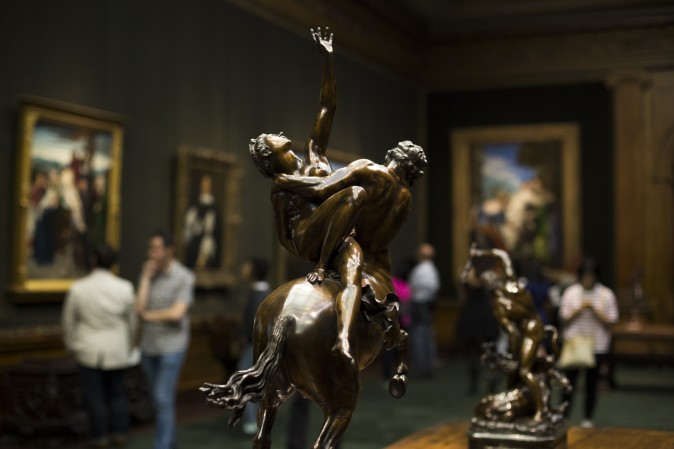 First Fridays at The Frick Collection in New York City on June 2, 2017. (Samira Bouaou/The Epoch Times)