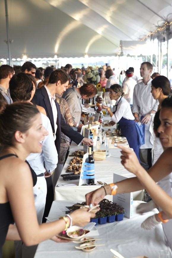 The Chefs and Champagne event in the Hamptons. (Courtesy of the James Beard Foundation)