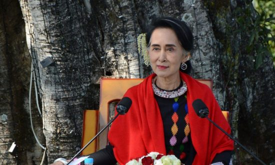 Aung San Suu Kyi Shows Feet of Clay
