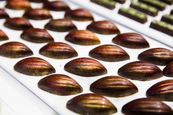 Chocolates by pastry chef François Mellet. (Samira Bouaou/The Epoch Times)