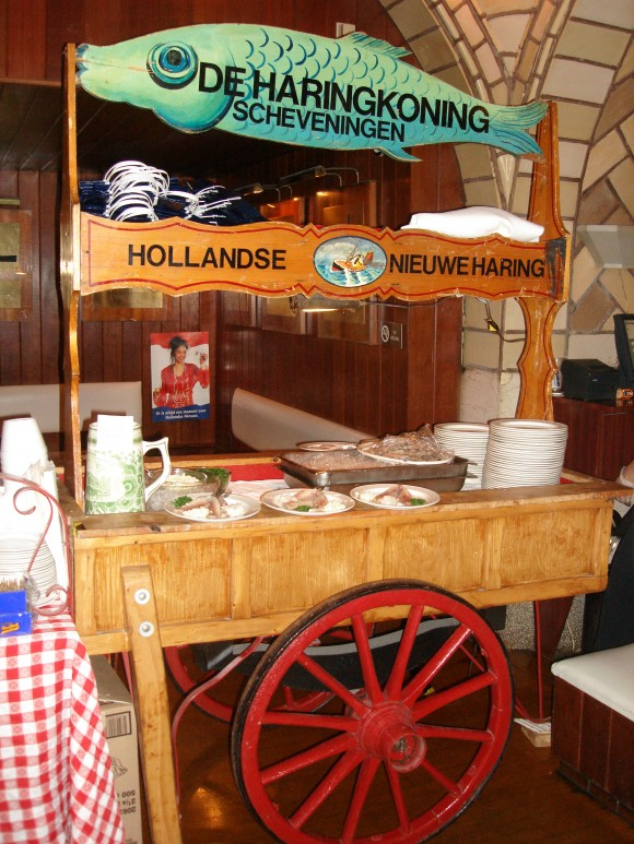 The herring cart. (Courtesy of Grand Central Oyster Bar)
