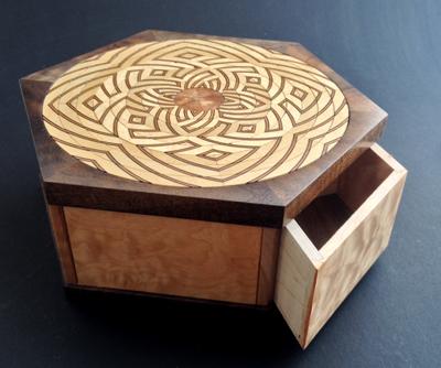 A puzzle box. (Kagen Sound)
